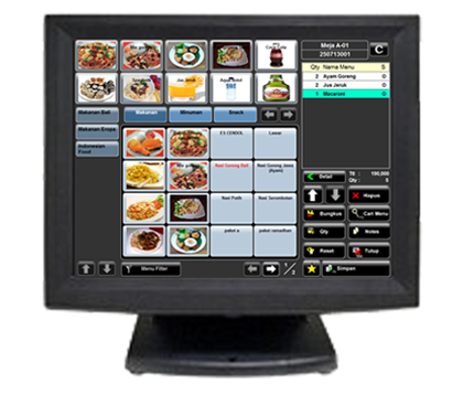 LCD Codesoft Touch Screen