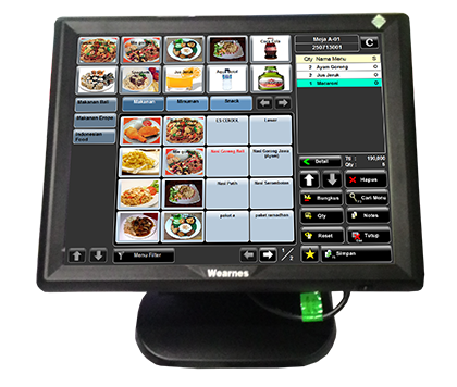 Wearner POS T-1550 All in One